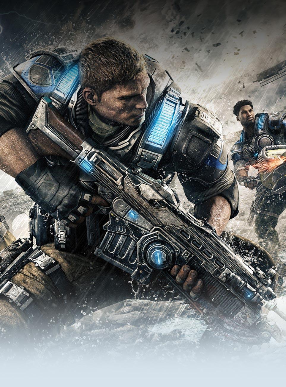 Gears of war 4 for Mobilia webhallen