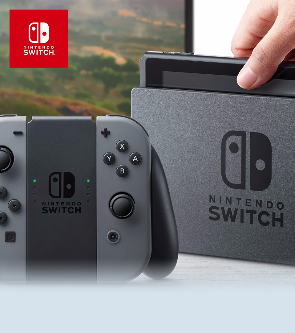Nintendo nx announcement for Mobilia webhallen