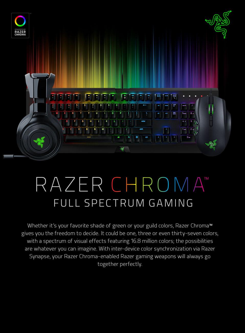 Razer chroma full spectrum for Mobilia webhallen