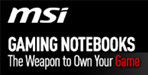 MSI gaming notebooks
