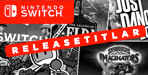 Nintendo Switch Releasetitlar