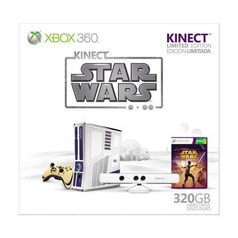 Xbox 360 Basenhet - Kinect Star Wars Limited Edition (320GB)