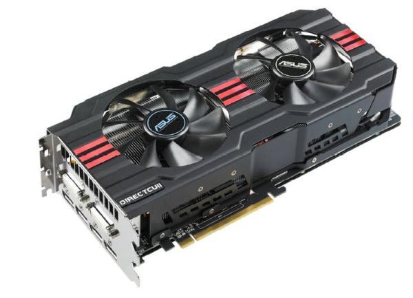 ASUS Radeon HD7970 3GB DCII TOP OC (HD7970-DC2T-3GD5)