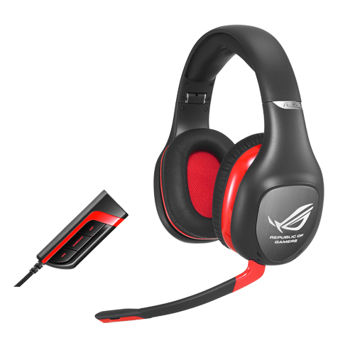 ASUS ROG Vulcan Pro 7.1 Surround Headset med Active Noise Cancellation