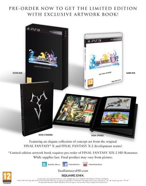 Final Fantasy X & X-2 - HD Remake Limited Edition