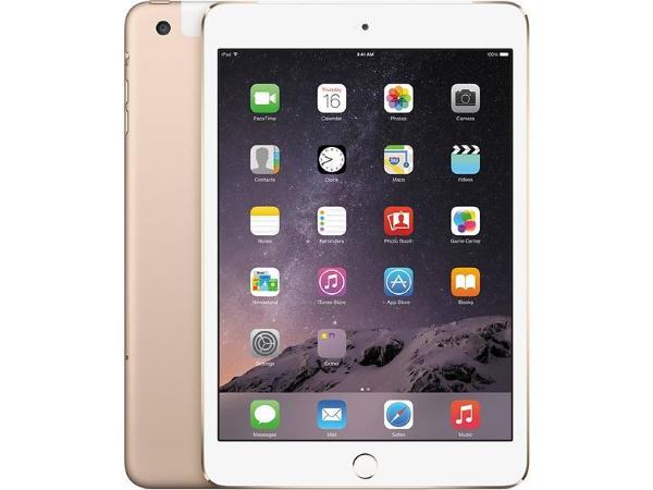 """Apple iPad Mini 4 - 7.9"""" / 128GB / Wifi / Cellular - Gold"""