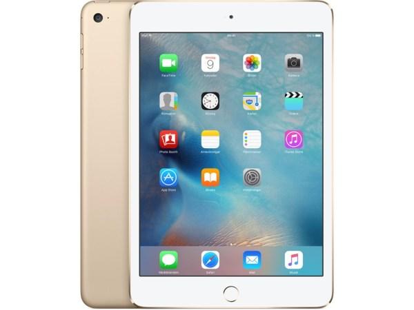 """Apple iPad Mini 4 - 7.9"""" / 128GB / Wifi - Gold"""