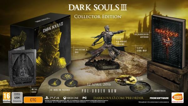 Dark Souls III (3) - Collectors Edition
