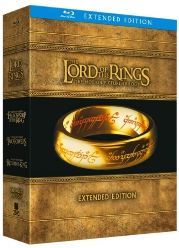 Lord of the Rings Box - Motion PictureTrilogy: Extended Edition  (Blu-ray)