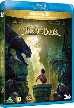 Djungelboken (Live-Action) (3D + 2D) (2016) (Blu-ray)