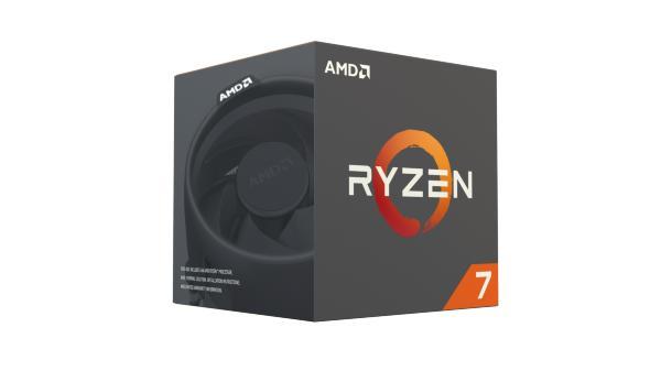 AMD Ryzen 7 1700X - 8C/16T, 3,4/3,8GHz, 4MB L2, 16MB L3 cache, 95W
