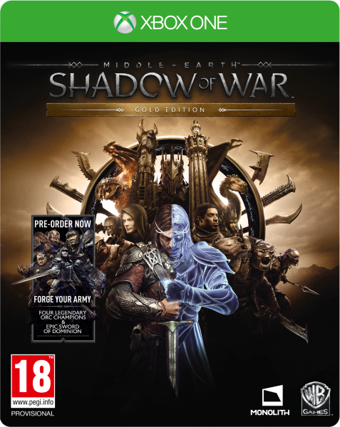 Middle Earth: Shadow of War - Gold Edition inkl Preorder