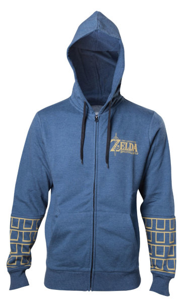 The Legend Of Zelda Breath Of The Wild Hooded Zip Sweater