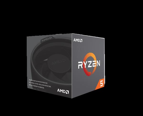 AMD Ryzen 5 1600 - 6C/12T, 3,4/3,6GHz, 3MB L2, 16MB L3 cache, 65W