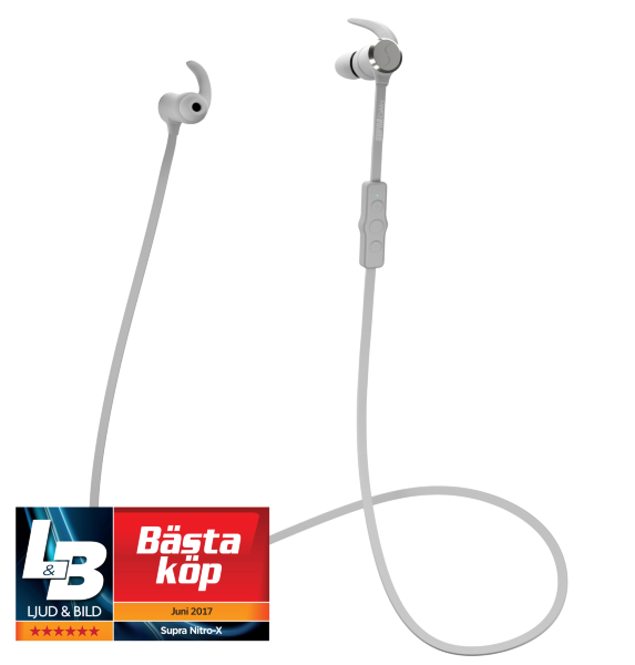 SUPRA NiTRO-X Wireless White In-Ear