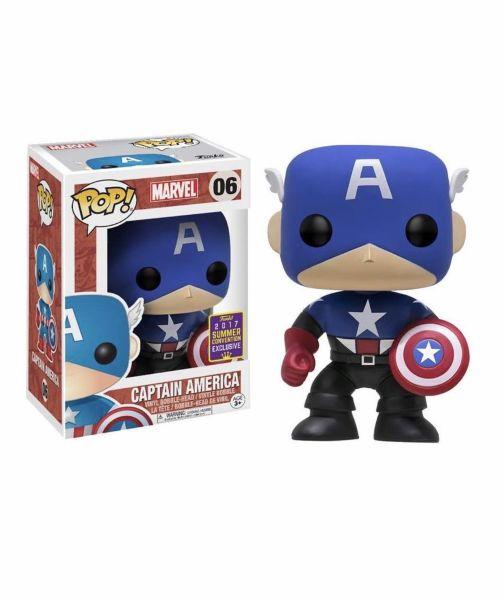 POP! Marvel: Captain America Black & Blue (SDCC 2017 Exclusive)
